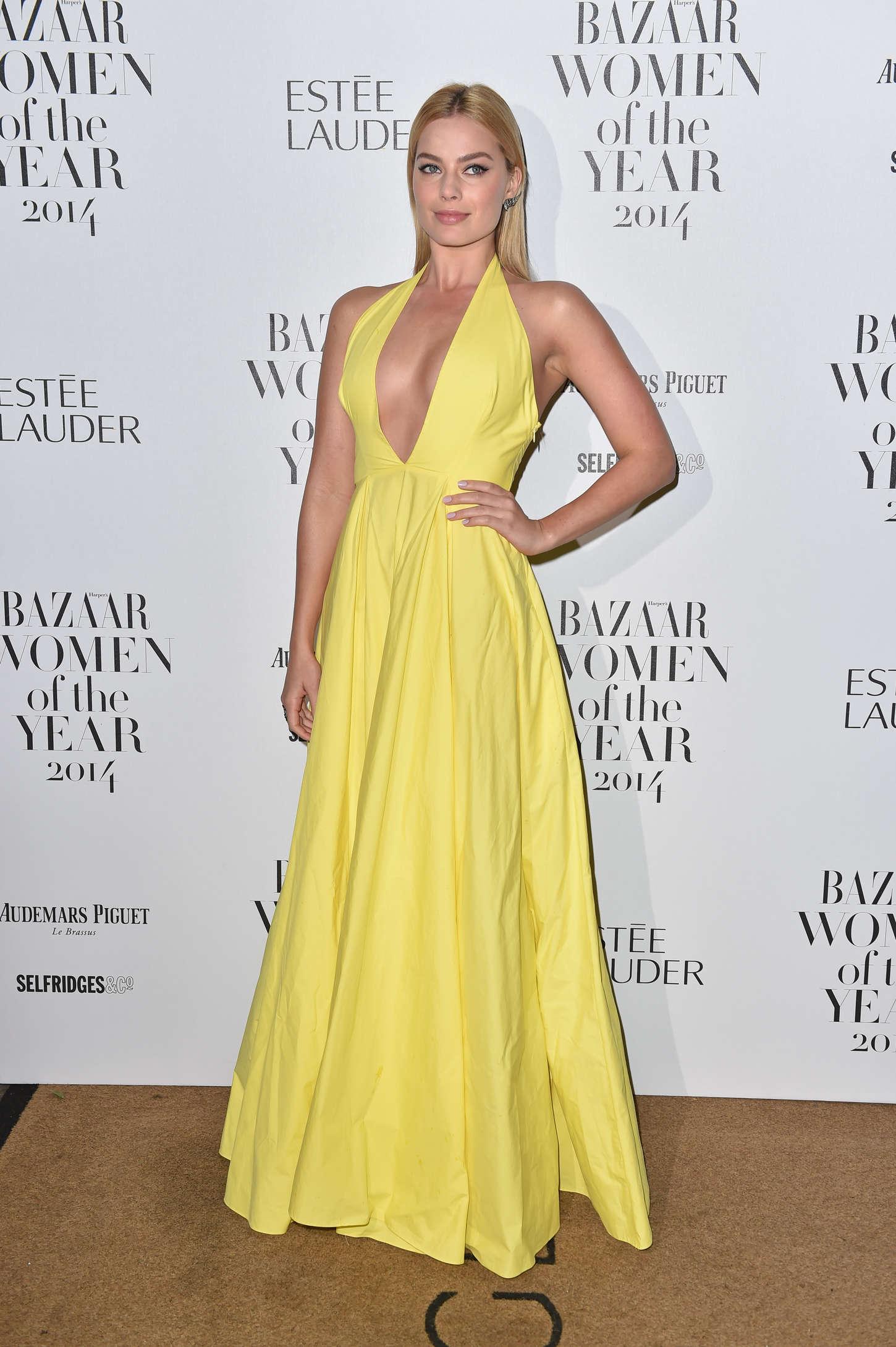 Margot Robbie - Harper's Bazaar Women of the Year Awards 2014 in London
