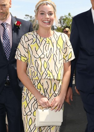 Margot Robbie - Stakes Day Races in Melbourne