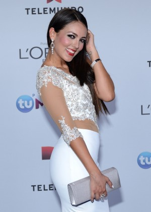 Maria del Pilar - 2014 Telemundo's Premios Tu Mundo Awards in Miami