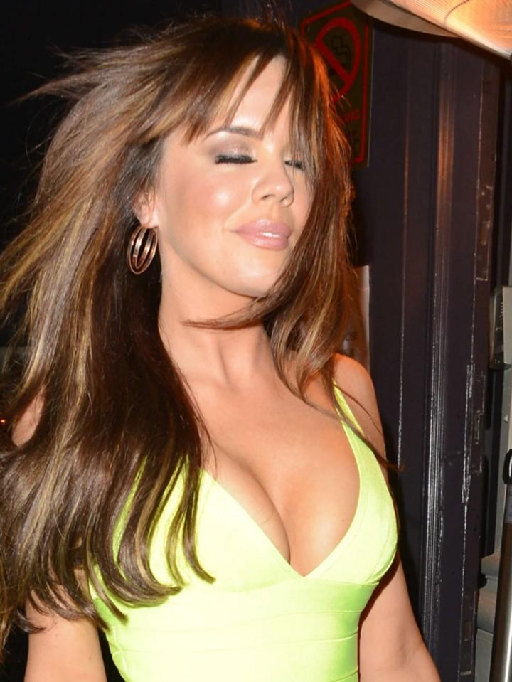 Maria Fowler in Yellow Dress -01