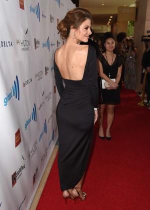 Maria Menonous: 2014 GLAAD Media Awards -01