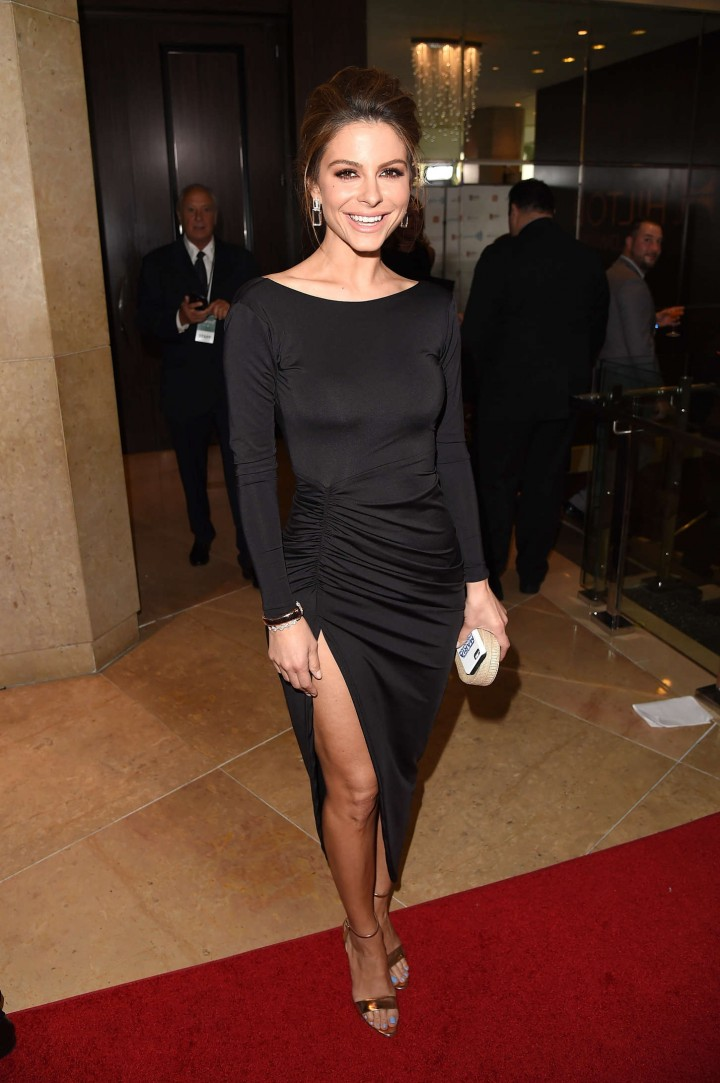 Maria Menonous 2014 : Maria Menonous: 2014 GLAAD Media Awards -08