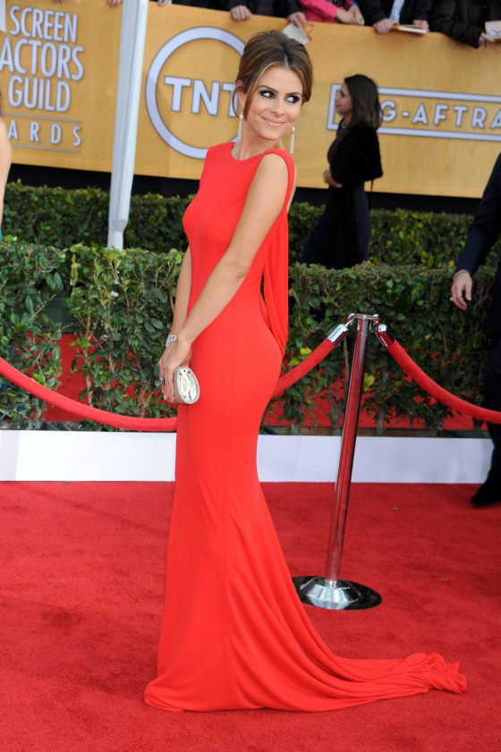 Maria Menounos at 19th Annual Screen Actors Guild Awards