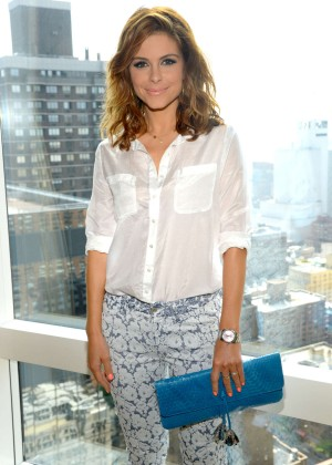 Maria Menounos - At a photocall in New York City