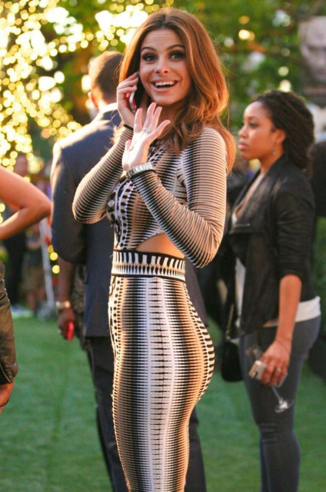 Maria Menounos at an E! News Party in West Hollywood