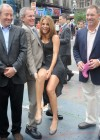 Maria Menounos shows her legs at Crocs 10 Year Anniversary Celebration