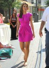 Maria Menounos legs in short dress-01