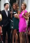 Maria Menounos legs in short dress-02
