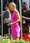 Maria Menounos legs in short dress-07