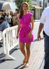 Maria Menounos legs in short dress-11