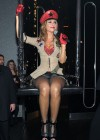 Maria Menounos - Cleavage and Leggy at Pussycat Dolls Burlesque Saloon in Las Vegas-03