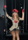 Maria Menounos - Cleavage and Leggy at Pussycat Dolls Burlesque Saloon in Las Vegas-17
