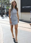 Maria Menounos - Hot in short dress At the Set of Extra-05