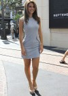 Maria Menounos - Hot in short dress At the Set of Extra-09