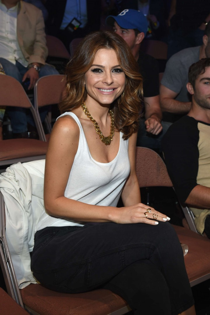 Maria Menounos - Big Knockout Boxing Inaugural Event in Vegas