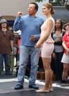 Maria Menounos Hot at Extra At The Grove In LA-10