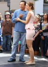 Maria Menounos Hot at Extra At The Grove In LA-14