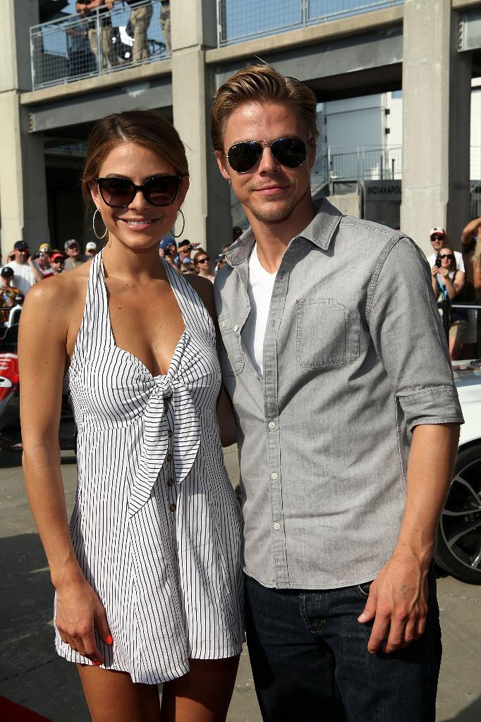 Maria Menounos – Hot  photos from Indianapolis Motor speedway-01