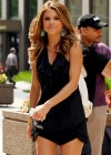 Maria Menounos hot in a black dress-01