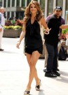 Maria Menounos hot in a black dress-03