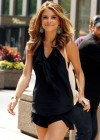 Maria Menounos hot in a black dress-04