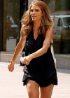 Maria Menounos hot in a black dress-07