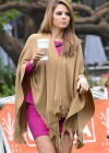Maria Menounos - Looking Hot on the set of Extra in Los Angeles-04