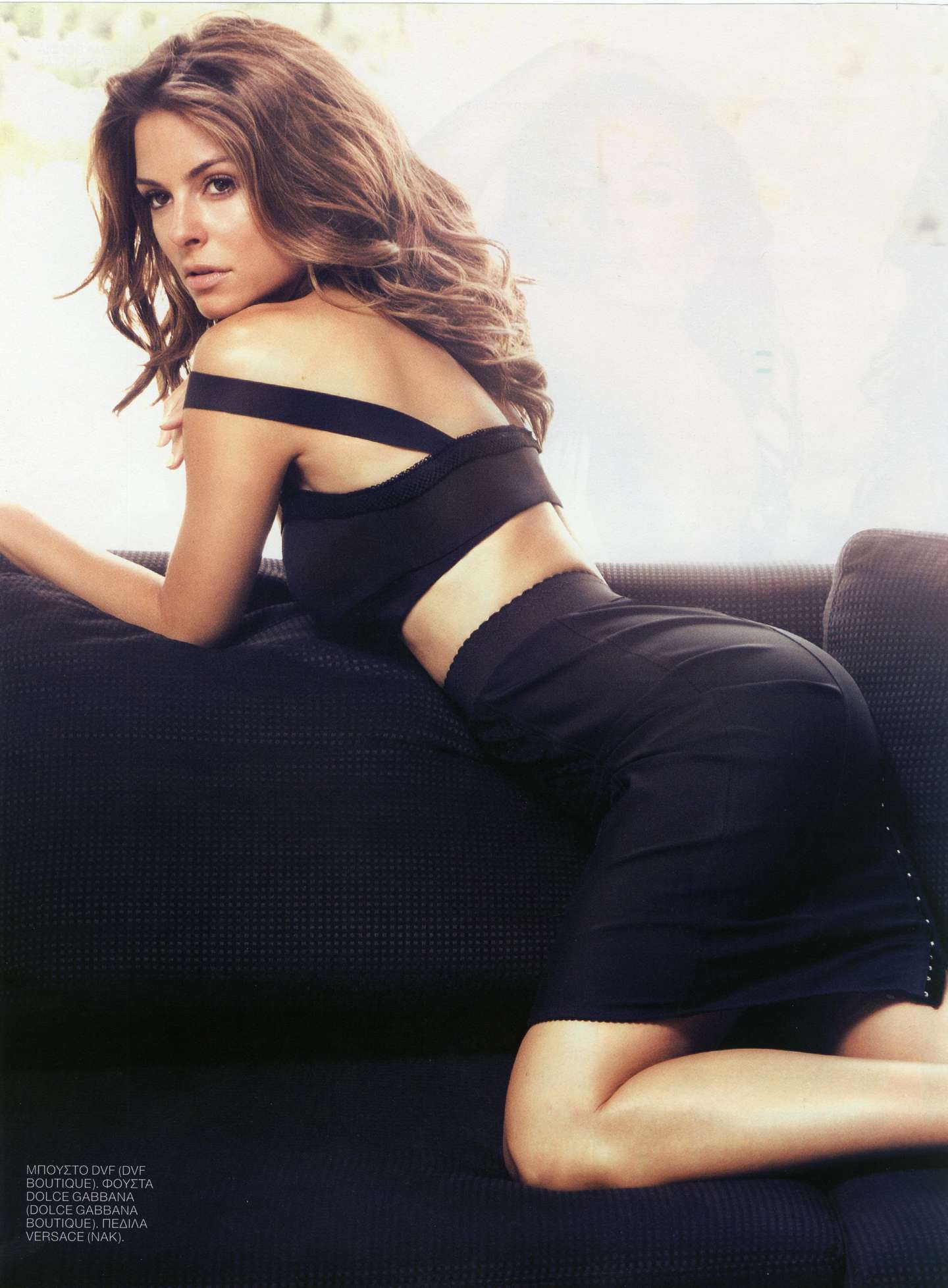 Maria Menounos Showing Sexy Tight Body In Nitro Magazine August