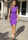 Maria Menounos leggy in tight dress-04