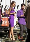 Maria Menounos leggy in tight dress-13