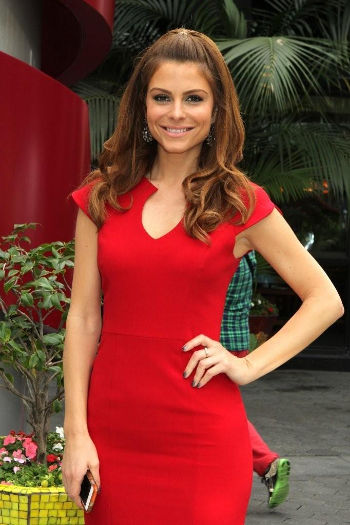 Maria Menounos 2014 : Maria Menounos Hot in a Tight Red Dress -08