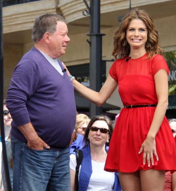 Maria Menounos in a red dress-14