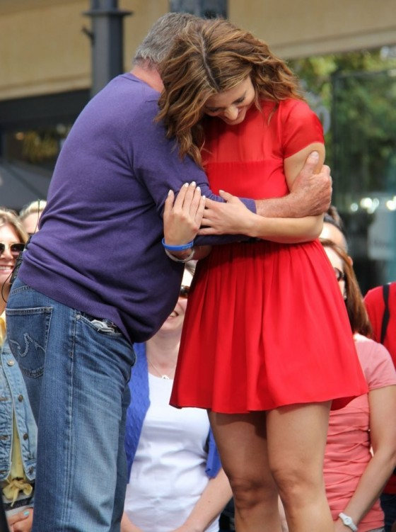 Maria Menounos in a red dress-26