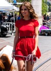 Maria Menounos in a red dress-30