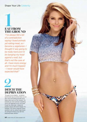 Maria Menounos - Shape Magazine (January 2015)