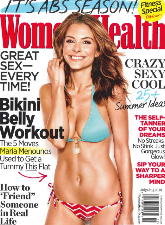 Maria Menounos – Women's Health Magazine Cover (July/August 2013)
