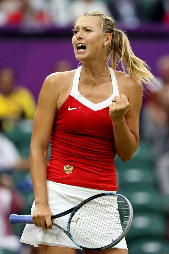 Maria Sharapova - 2012 Olympic Summer Games in London