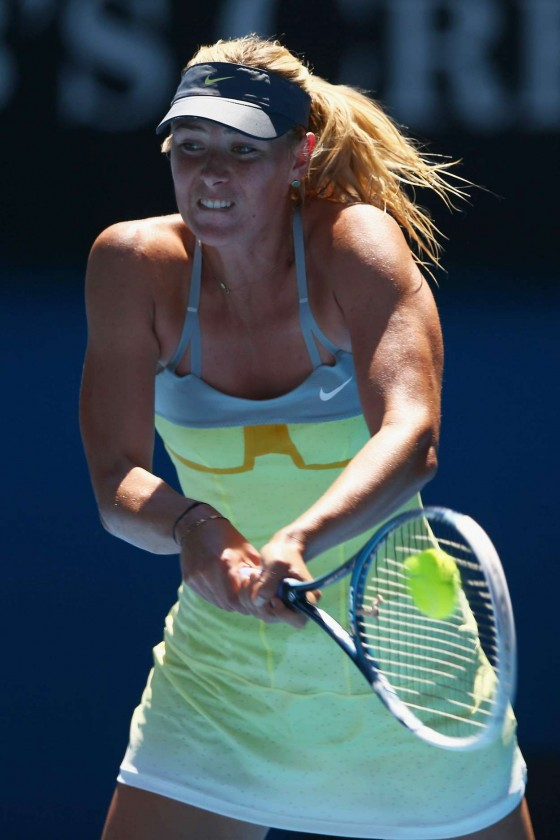 Maria Sharapova - 2013 Australian Open (day 11)
