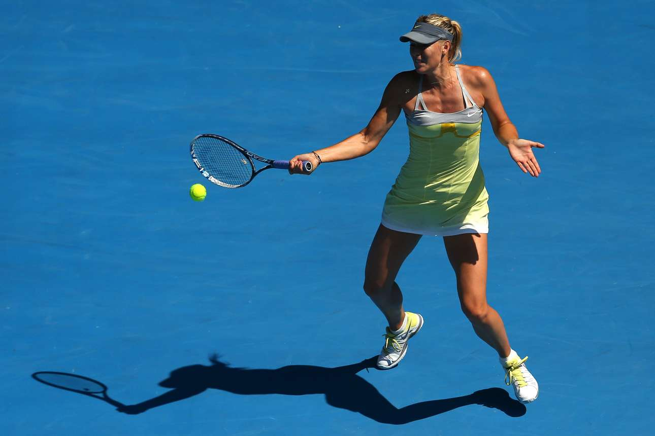 Maria Sharapova Photos Photos - 2013 Australian Open - Day ... |Maria Sharapova 2013 Australian Open