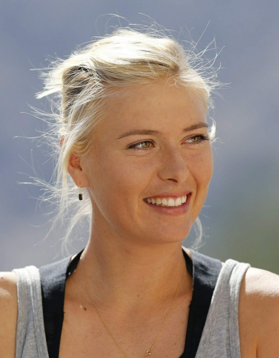 Maria Sharapova – 2013 BNP Paribas Open All Access Hour -02