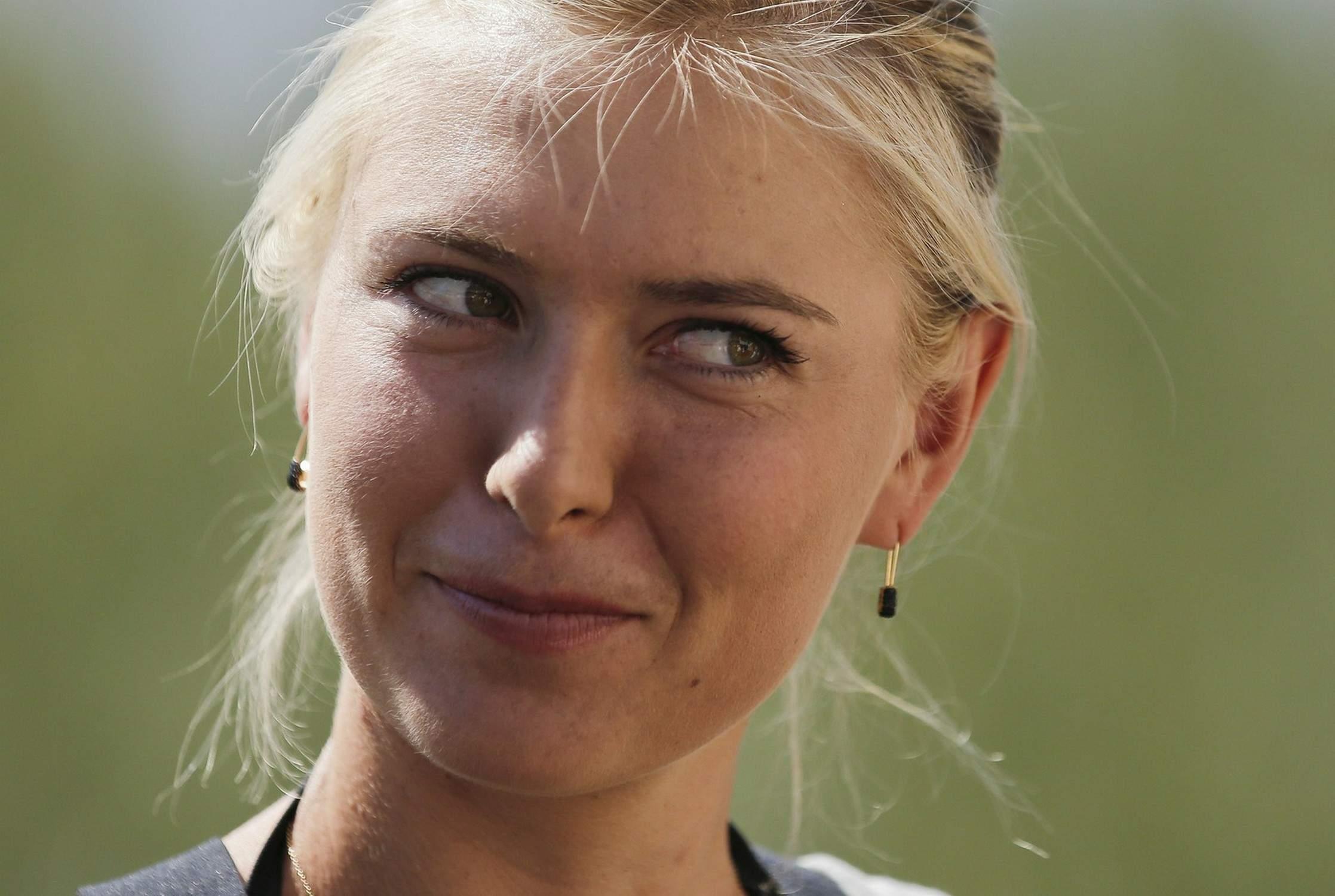 Maria Sharapova 2013 : Maria Sharapova – 2013 BNP Paribas Open All Access Hour -09