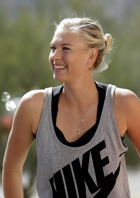 Maria Sharapova - 2013 BNP Paribas Open All Access Hour -13