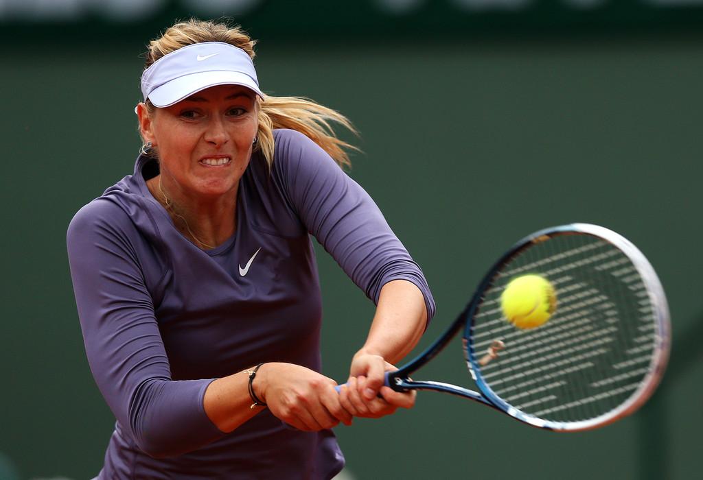Maria Sharapova - 2013 French Open Day 5 in Paris