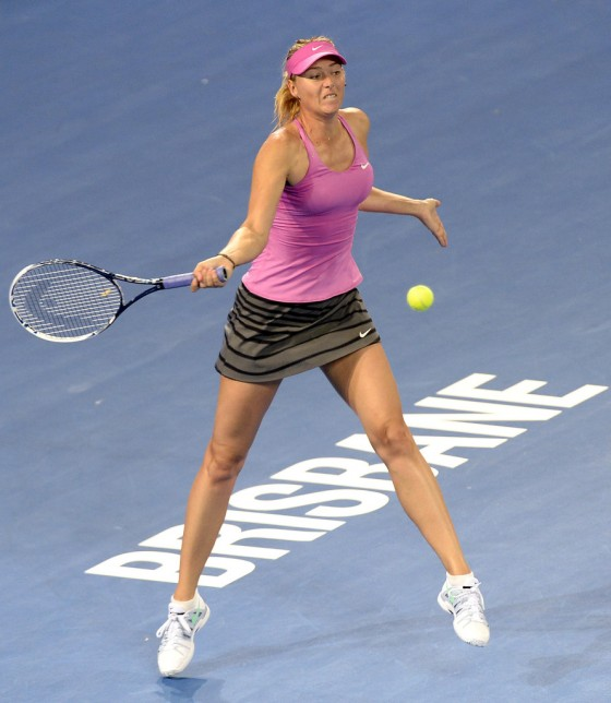 Maria Sharapova - 2014 Brisbane International -12