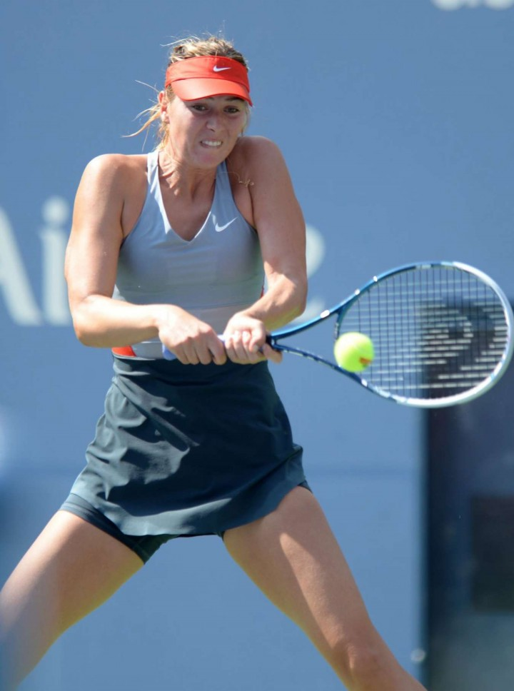 Maria Sharapova - 2014 US Open (4th Round match)