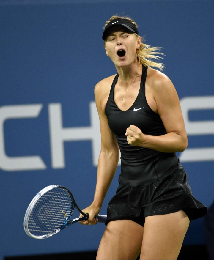 Maria Sharapova - 2014 US Open Tennis Tournament in New York