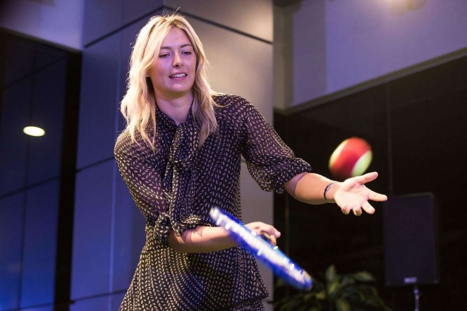 Maria Sharapova - Porsche Asia Pacific Charity Event in Singapore