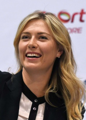Maria Sharapova - Press Conference Ahead of the WTA 2014 in Singapore