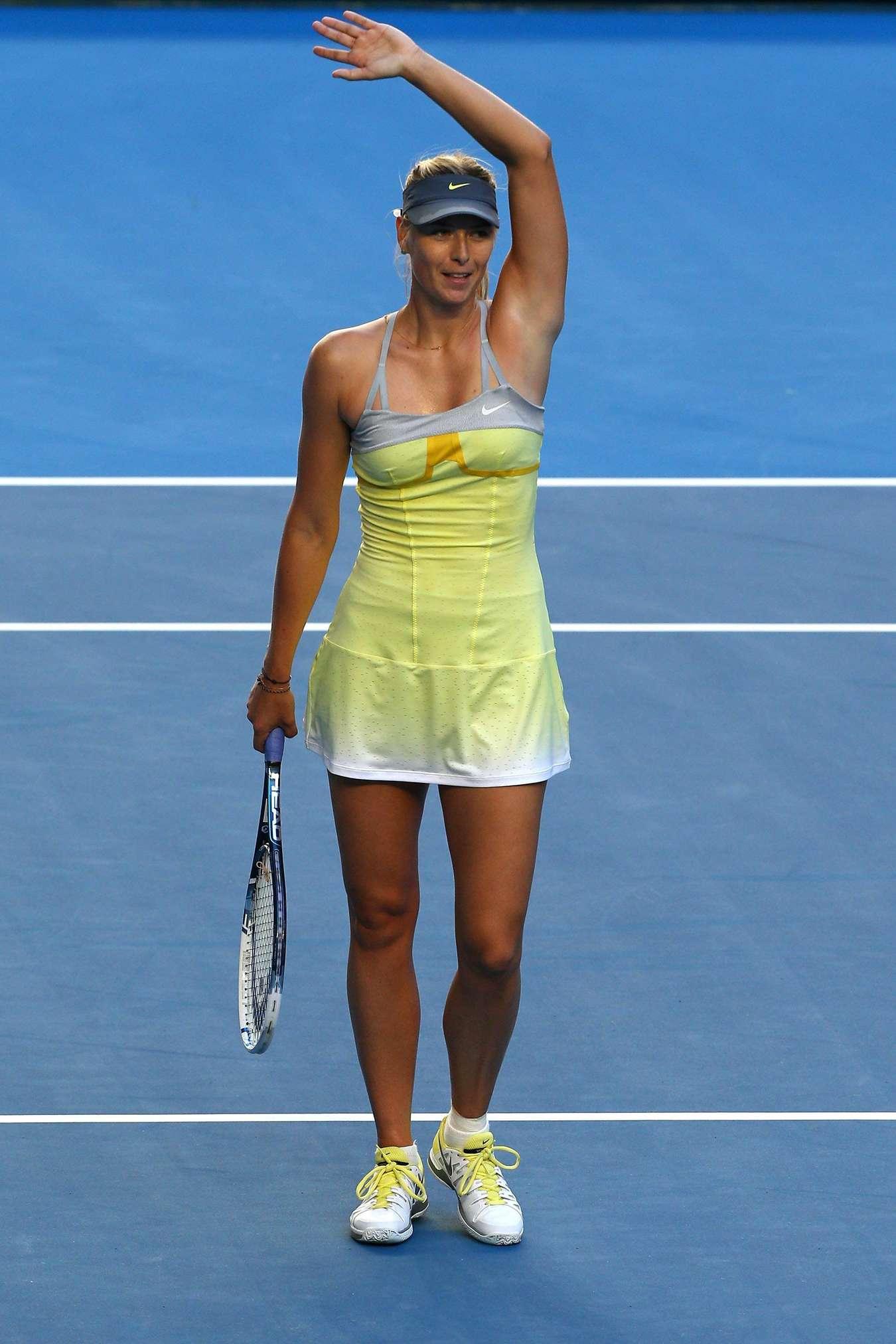 Maria Sharapova - 2013 Australian Open-17 - GotCeleb