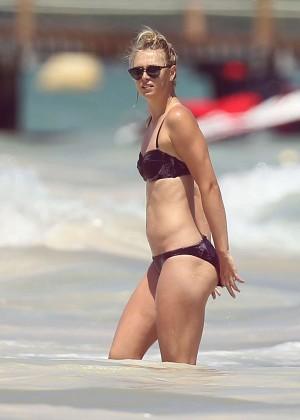 Maria Sharapova Bikini Photos: 2014 in Cancun -05
